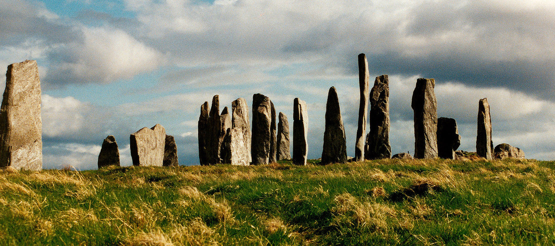 Picture of the Callanish standing stones